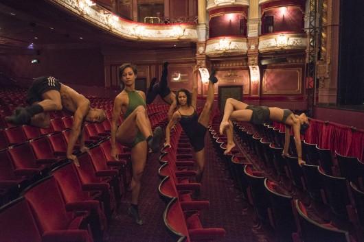 Such a beautiful photo taken at Bradford Alhambra Theatre! Photo by Jose Luiz Pederneiras