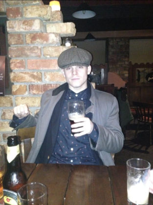 Me at a Pub in Dowra, Co. Leitrim last year.  Catching up with old friends and the townspeople, who only refer to me as 'Johnny P'