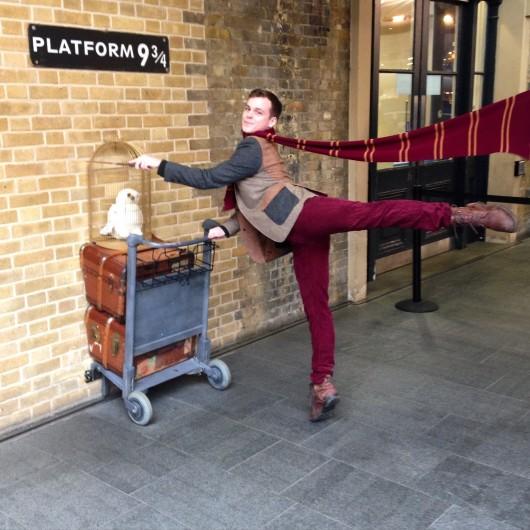 Me, at Platform 9 ¾