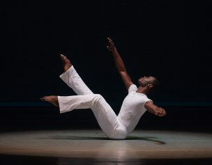Alvin Ailey Alvin Ailey American Dance Theater's Jamar Roberts in Alvin Ailey's Revelations Photo by Christopher Duggan