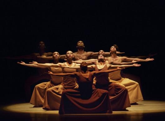 Revelations Choreography by Alvin Ailey Alvin Ailey American Dance Theater Credit photo: ©Paul Kolnik paul@paulkolnik.com nyc 212-362-7778