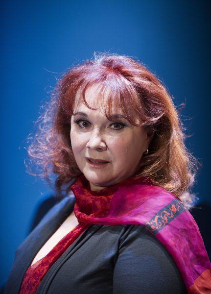 Nelida Rodriguez de Aure photographed by Tristram Kenton